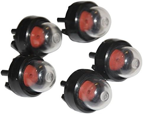 5 Pcs Snap In Primer Bulbs /& 2 Pcs Pump Fuel Line For RYOBI 683974 ECHO Poulan