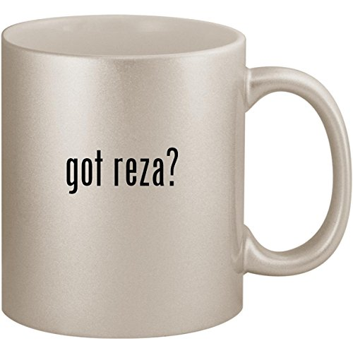 got reza? - 11oz Ceramic Coffee Mug Cup, Silver for sale  Delivered anywhere in USA