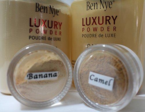 2Pc. SAMPLE 10-ml Jars/Ben Nye Luxury Set (Banana & Camel) (Powder Ben Nye Set)