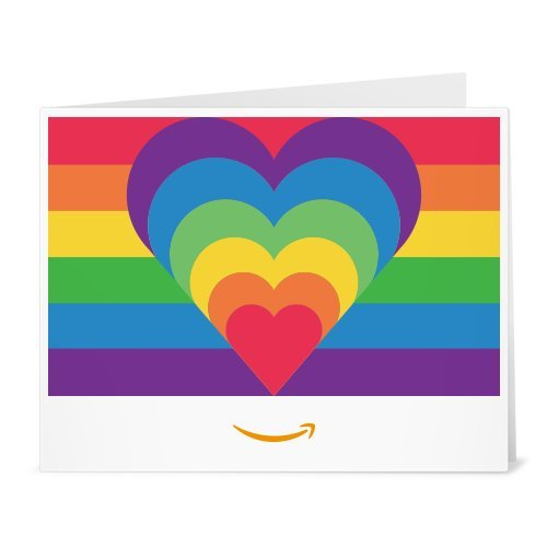 Amazon Gift Card - Print - Rainbow Hearts
