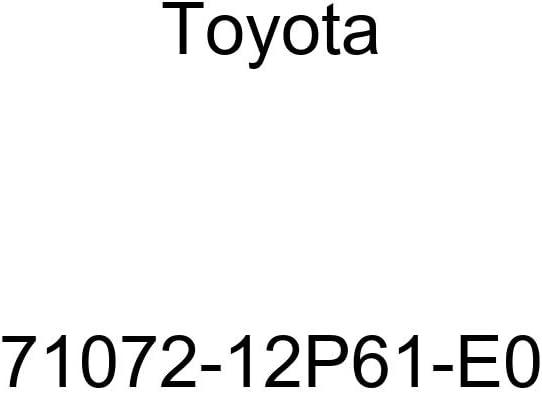 TOYOTA Genuine 71072-12P61-E0 Seat Cushion Cover