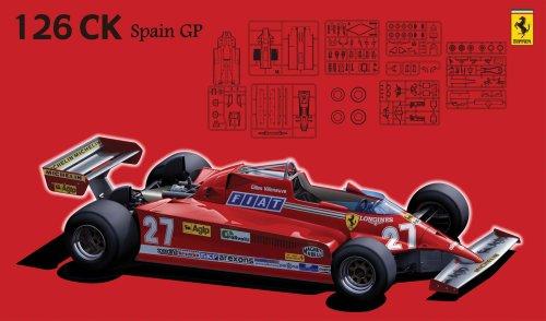 フジミ模型 1/20 GP-3 フェラーリ126CK スペインの商品画像