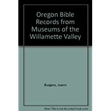 Oregon Bible Records from Museums of the Willamette Valley