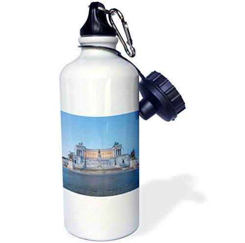 3dRose Danita Delimont - Italy - Italy, Rome, Vittorio Emanuele Monument, Altare della Patria, at dawn - 21 oz Sports Water Bottle (wb_277654_1) by 3dRose