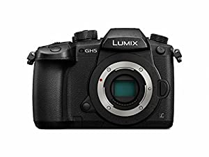 Panasonic DC-GH5KBODY Lumix 4K Mirrorless ILC Camera Body, 20.3 MP, Wi-Fi + Bluetooth with 3.2