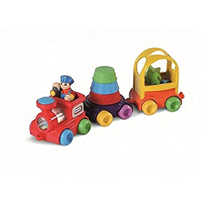 Little Tikes DiscoverSounds Sort and Stack Train: Toys & Games