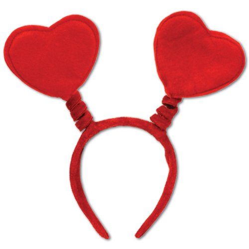 Heart Boppers Party Accessory (1 count) (1/Pkg) -