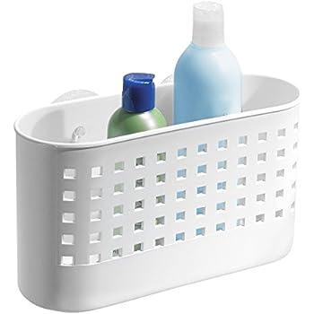 Amazon.com: InterDesign Suction Bathroom Caddy - Shower Storage ...