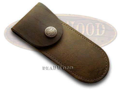 Amazon.com: Funda XX genuina marrón suave cuero bolsillo ...