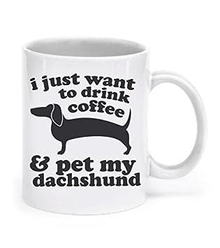 Amazon.com: Dachshund Mug Dog Mug Dachshund Gifts Coffee Mug ...