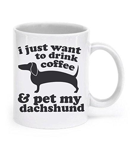 Dachshund Coffee Wiener Ceramic Animal product image