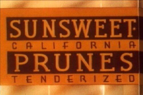 Vintage Sunsweet Prunes Promotional Film: Good Wrinkles DVD (1951)