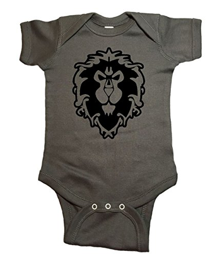 HELLOWI Level 1 Human Infant Bodysuit Onesie Lovely Jumpsuit Playwear
