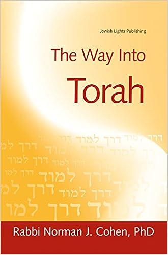 Book The Way Into Torah