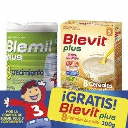 Blemil - Leche Blemil Plus 3 Crecimiento 800 gr 12m+: Amazon ...