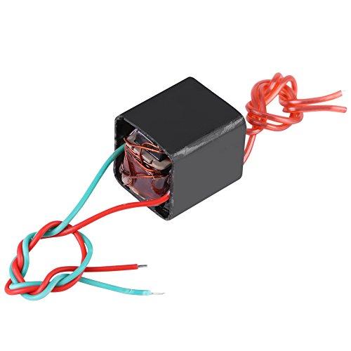 Miniature DC 3.6~6V to 20KV High Voltage Transformer Boost Step-up Inverter Arc Pulse Generator Power Module Black