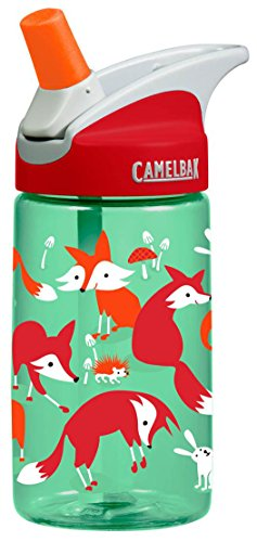 CamelBak Kid's Eddy Water Bottle, Foxes, .4-Liter