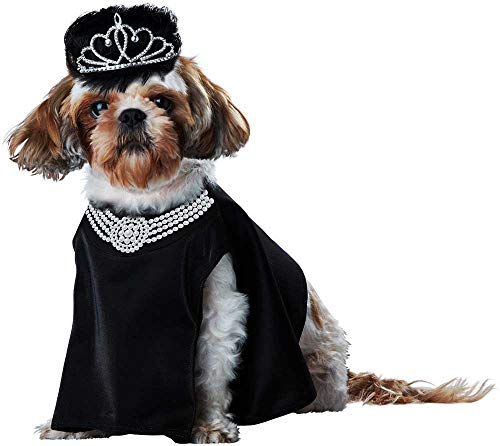ESSA OAT clothes series Breakfast at Tiffany's Pup-A-Razzi Hepburn Character Bib Princess Costume Pet Black -