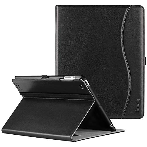 Ztotop Case for iPad 2/3/4 - Premium PU Leather Business Slim Folding Stand Folio Cover with Auto Wake/Sleep for iPad 4th Generation with Retina Display, iPad 3, iPad 2,Black (Ipad Air Or Ipad With Retina Display)