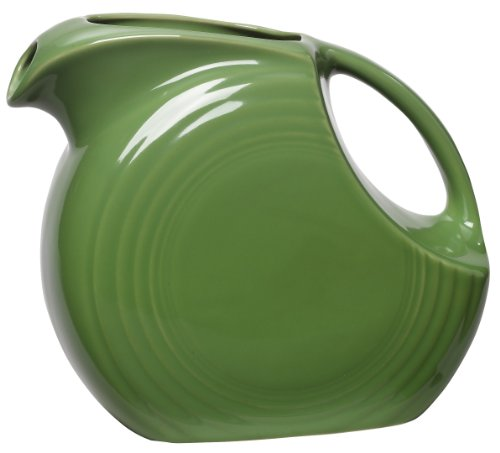 green glass water pitcher - 5
