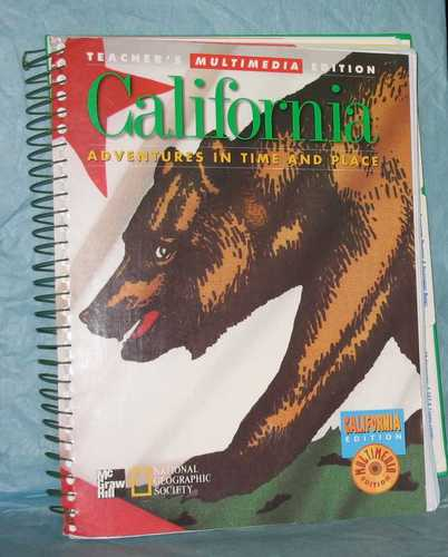 California: Adventures in Time and Place, Teacher's Multimedia Edition ebook
