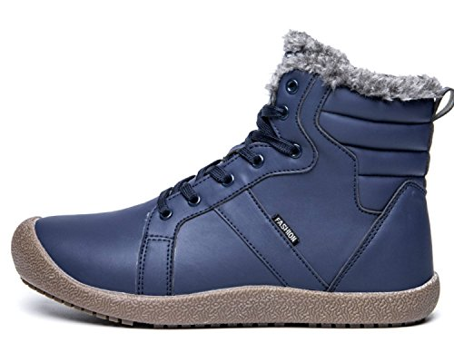 Eagsouni Homme Bottes Lacet de Neige Hiver Chaudes Cheville Boots Chaussure Fourrure Doublée 2018 Unisexe Acheter Pas Cher Abordable Vente Chaude Vente En Ligne RQycpPOl3X