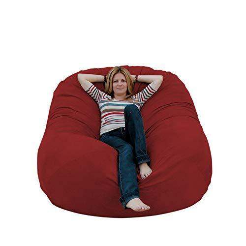 Cozy Sack 6-Feet Bean Bag Chair, Large, Cinnabar