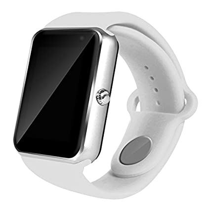 AIYIBEN U7 Bluetooth Touch pantalla Bluetooth 3.0 Smart watch muñeca reloj teléfono reloj Para iPhone Samsung