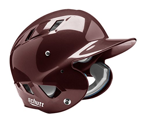 Schutt Sports Junior OSFM 3110 AIR MAXX T 4.2 Batter's Helmet, Maroon ()