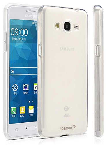 Samsung Galaxy Grand Prime Case, Fosmon [DURA FROST] Smooth Durable & Flexible SLIM-Fit Cover for Samsung Galaxy Grand Prime 2015 (Clear)