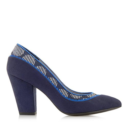 Ruby Shoo Women's Elly Court Shoes & Venice Bag Blue jfPWr
