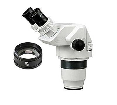 GOWE 6.7X-90X Ultimate Binocular Stereo Zoom Microscope Head WF10X/12mm Eyepice SZ2.0X 30mm Object Lens
