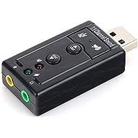 Dark DK AC USC71 Usb2.0 7.1 Stereo Ses Efektli Ses Kartı (Windows Ve Mac Destekli)