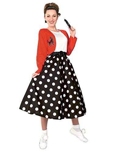 - Rubie's Polka Dot Rocker Costume for Adult Up to Size 12