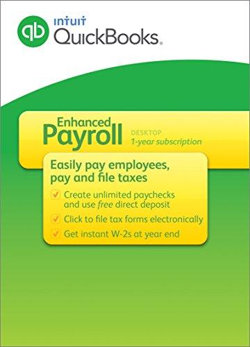 Intuit QuickBooks Payroll Enhanced 2016 [Old Version]