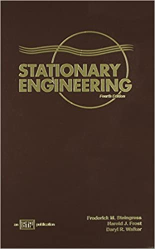 stationary engineering harold j frost daryl r frederick m