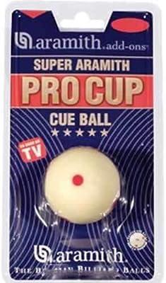 Aramith Pro Cup - Bola blanca de billar (48 mm): Amazon.es ...