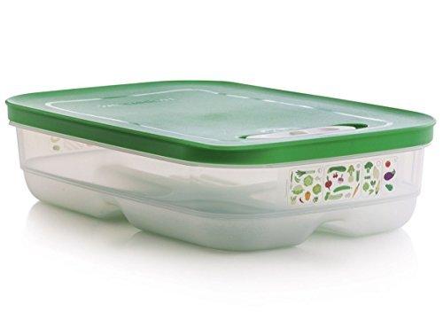 Tupperware Newly Designed Fridgesmart Apple Green - Chart Seals Apples