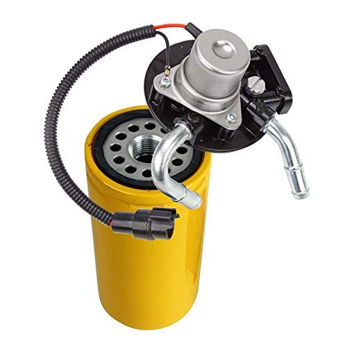 duramax fuel filter head - 8