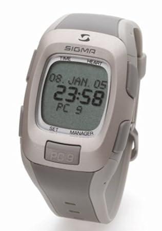 Sigma Pulsómetro Pc9 reloj: Amazon.es: Deportes y aire libre