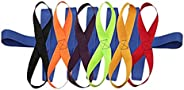 Etase Children's Walking Ropes for Preschool Daycare School Kids Outdoor Colorful Handles for Up to 12 Chi