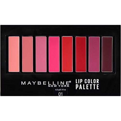 Maybelline Lip Studio Lip Color Palette, 0.14 oz. (Lip Kit Color)