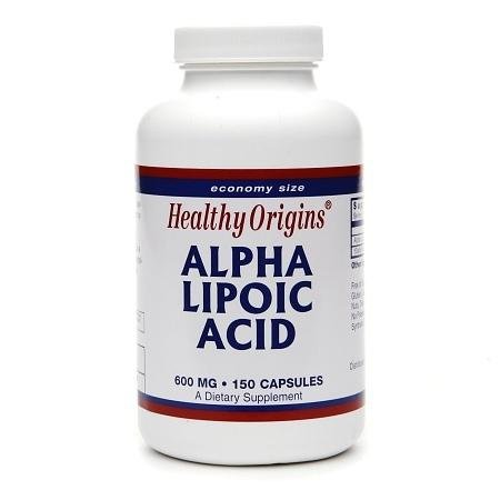 Healthy Origins Alpha Lipoic Acid, 600mg, Capsules - 3PC by Healthy Origins