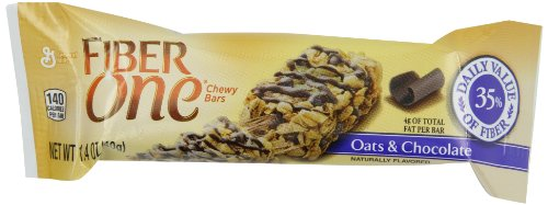 Fiber One Oats & Chocolate Bars, 22.6-Ounce Box (Fiber One Oats)