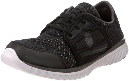 fb88a90ab98d8 K-Swiss Men's Blade-Light Recover Lace Shoe,Black/White/Charcoal,15 ...