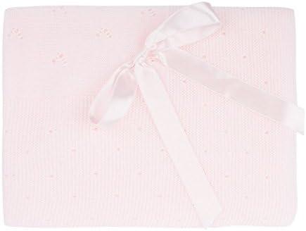 Toquilla de punto en color rosa bebe: Amazon.es: Bebé