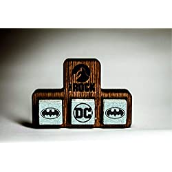 Batman - Whiskey Stones – Beverage Chilling Stones – Whiskey Stones Gift Set – The Rock Scotch Whiskey Stones - Rock Icon Set - DC - League of Justice