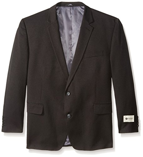 Haggar Men's Big-Tall Performance Heather Pinstripe Suit Separate Coat, Charcoal, 52 Short