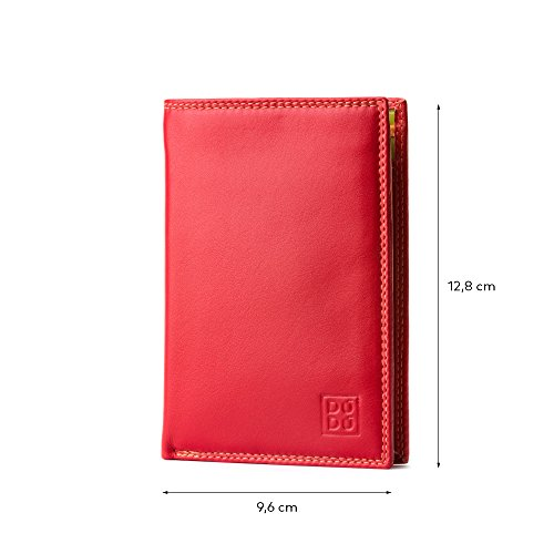 Tiberio by zip leather Man's Collection with multi model Red Colorful folding ~ DUDU colour wallet WFqBg4xOq