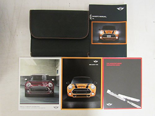 2016 Mini Cooper Hard Top Owners Manual Guide Book